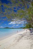 West Indies, Caribbean, Antigua, St Mary, Ffryes Beach Royalty Free Stock Image