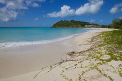 West Indies, Caribbean, Antigua, St Mary, Ffryes Beach Royalty Free Stock Photo