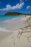 West Indies, Caribbean, Antigua, St Mary, Ffryes Beach Stock Image