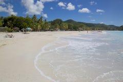 West Indies, Caribbean, Antigua, St Mary, Jolly Harbour, Beach Royalty Free Stock Photos