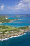 West Indies, Caribbean, Antigua, View of Friers Head Bay Royalty Free Stock Photos