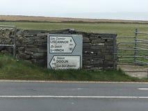 West-Irland Lizenzfreies Stockfoto