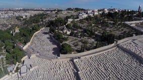 West Jerusalem flight stock video footage