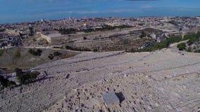 West Jerusalem flight stock footage