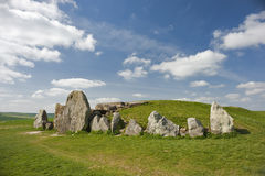 West Kennet Long Barrow Stock Photos