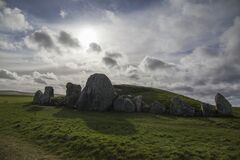 Free West Kennet Long Barrow In Avebury Stone Circle Royalty Free Stock Photography - 170964937