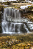 West Kill Falls Cascade and Pool Royalty Free Stock Images