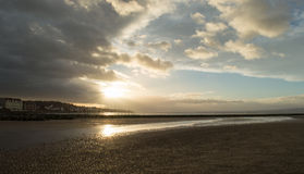 West Kirby and Marina Royalty Free Stock Photography