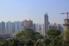 West kowloon. City view of West kowloon at hong kong Royalty Free Stock Photo