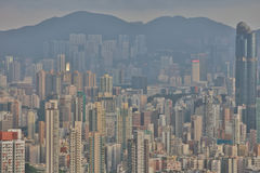 west kowloon residential building Stock Image