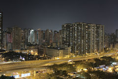West kowloon, Yau Ma Tei Stock Images