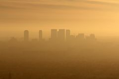 West LA Smog Stock Photography