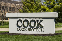 West Lafayette - Circa April 2017: COOK BioTech, a subsidiary of the COOK Group I Stock Photography