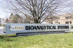 West-Lafayette - Circa April 2017: Hoofdkwartier I van Bioanalyticalsystemen stock afbeelding