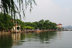The west lake Stock Image