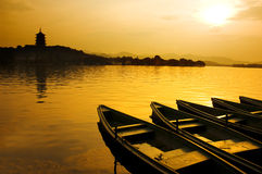 West lake in china Stock Image