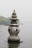 West Lake Cultural Landscape in Hangzhou, China Stock Photo