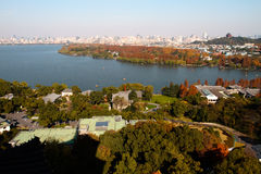 West lake at hangzhou Royalty Free Stock Photography