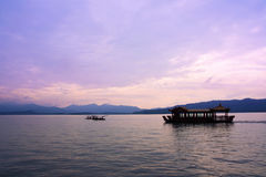 The west lake,hangzhou,China Royalty Free Stock Images