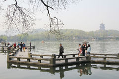 West lake in hangzhou, china Stock Photography