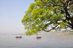 West Lake, Hangzhou, China Royalty Free Stock Images