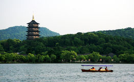 West Lake in Hangzhou Stock Images
