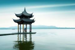West Lake in Hangzhou, Zhejiang, China Royalty Free Stock Photography