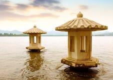 West Lake in Hangzhou, Zhejiang, China Royalty Free Stock Images