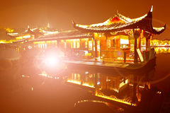 The west lake scenery Royalty Free Stock Images
