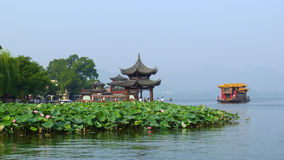West lake in summer Stock Image
