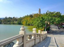 West Lake Water Is My Tear royalty free stock image