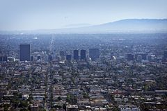 West Los Angeles Royalty Free Stock Image