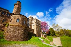 West of Lowenburg castle fortifications, Bergpark Stock Photography