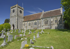West Lulworth Church Royalty Free Stock Image