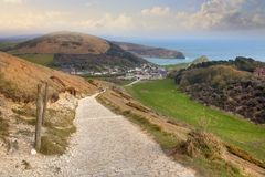 West Lulworth, Dorset Royalty Free Stock Images