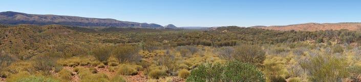 West-Macdonnell Ranges, Australië Stock Afbeeldingen