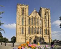 West, main entrance, Ripon Cathedral Royalty Free Stock Photos