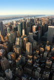 West midtown Manhattan, New Yo Royalty Free Stock Photos