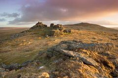 West Mill Tor Stock Images