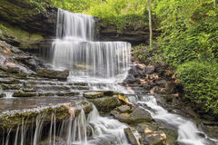 West Milton Cascades Royalty Free Stock Image