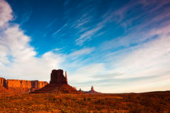 West Mitten Butte Royalty Free Stock Photography