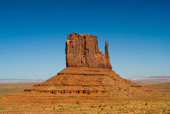 West Mitten Butte at Monument Valley, Arizona Royalty Free Stock Photo