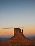 West Mitten Butte - Monument Valley Stock Image