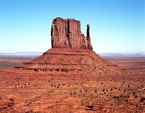 West Mitten, Monument Valley. Stock Photos