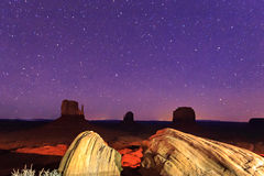 West Mitten with stars Stock Photography