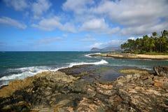 West Oahu coast Stock Photo