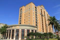 建筑学在West Palm Beach 库存照片