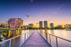 West Palm Beach Lizenzfreies Stockfoto