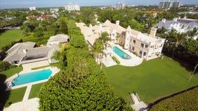 West Palm Beach FL antennvideo stock video