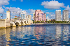 West Palm Beach, Florida Fotografia Stock Libera da Diritti